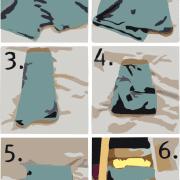 How to fold undewear